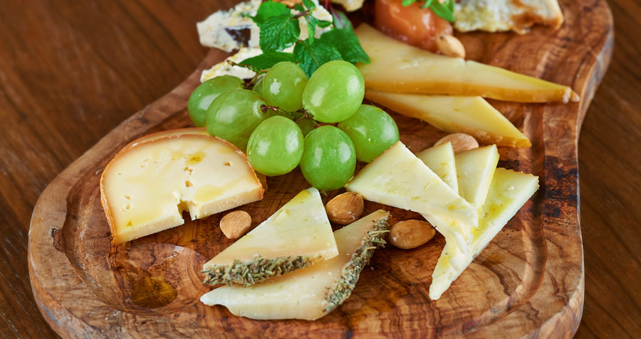 fantastic mixed cheese boards
